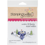 Stamping Bella Rubber Stamp - Warm & Fuzzy Penguins