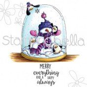 Stamping Bella Rubber Stamp - Merry Everything