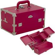 SUNRISE Pink Makeup Train Case - C3026