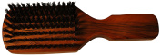 Budd Leather Club Brush with Natural Bristles, Tan, 0.2kg