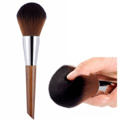 CLOTHOBEAUTY luxury Synthetic Kabuki Makeup Brush Kit, Incredible Soft, X-Large Powder/Blush/Bronzer Brush