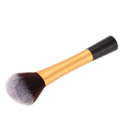 HuntGold RT Large Head Professional Gold Handle Makeup Cosmetic Powder Foundation Blush Brush