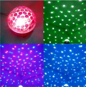 XJ DMX512 Sound Induction Dome Light Automatically Moving Colour chaging karaoke lights Stage Lamp