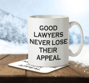 MNC_JOB_011 Good Lawyers Never Lose Their Appeal - Mug and Coaster
