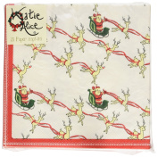 Creative Tops Katie Alice Christmas Yuletide Sleigh Ride Paper Napkins, Pack of 25