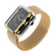 iphone Watch Series 2 38mm, BESSKY Stainless Steel Bracelet Strap Band +Cover Case For IWatch Series 2 38mm