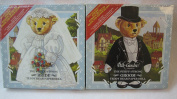 The Steiff/Strong Bride and Groom Teddy Bear Paper Dolls - Set of Two
