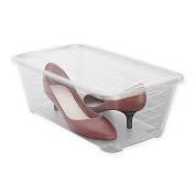 5.7l. Stackable Polypropylene Shoe Boxes