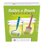 Teabloom - . - Roller & Brush Tea Infusers - Novelty Infusers For Tea-Time Fun