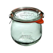 Weck 746 1/5 Litre Tulip Jar, 370ml - Set of 6