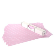Pink Teddy Bear Drawer Liners