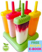 Popsicle Moulds - Ice Pop Maker - Bpa-free Popsicles with Tray and Dripguard Function - .