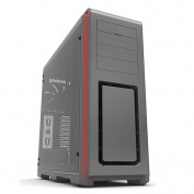 Phanteks Enthoo Luxe Full Tower Chassis Tempered Glass Windows Side ,  Anthracite Grey,  w/o PSU