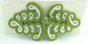 Lyracces Sewing Fasteners knotting Christmas Xmas Tree Fabric Chinese decorative knots Cheongsam Frogging Button