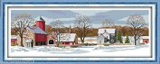Northern scenery Embroidery Kit Precise Printed Needlework Cross stitch
