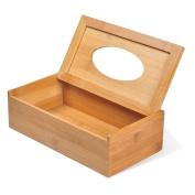 Ecrocy Bamboo Flat Tissue Box Regular Size 9.8 x 13cm x 9.4cm