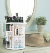Jerrybox 360 Degree Rotation Adjustable Multi-Function Cosmetic Storage Box, Large