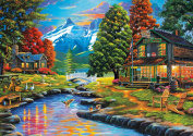 Buffalo Games Dewie Hollow Jigsaw Puzzle From The Days To Remember Collection