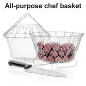 Sino Banyan Chef Basket Strainer,Easy Stocked,Fit 4-4.7l cooker