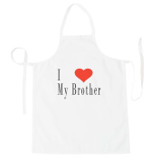 I Love Brother Funny Novelty New Apron g92b