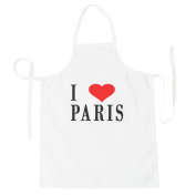 I Love PARIS Funny Novelty New Apron h5b