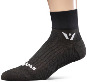 Swiftwick - Aspire TWO, Micro-Crew Compression Socks for Endurance Sports