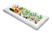 KOVOT Inflatable Serving Bar and Buffet with Drain Plug 130cm L x 60cm W x 13cm Deep