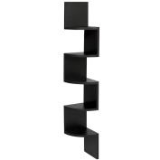 Sinma Corner Shelf, 5 Tiers Wall Mount Space Saving Shelves