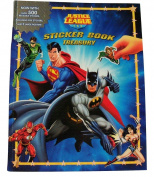 DC Comics Justice League Sticker Book Treasury ~ Daring Defenders