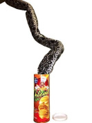 Yamaige The Potato Chip Snake Can Jump Spring Snake Toy Gift April Fool Day Halloween Party Decoration Jokes In A Can Gag Gift Prank Large Size