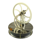 Lieomo White Low Temperature Stirling Engine Education Toy Model KM026