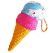 Cafe De N Double Scoop Ice Cream Cone Squishy Pop N Soda