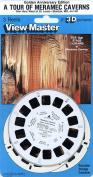 Classic VIewMaster - Tour of Meramec Caverns - Jesse James Hideout - 3 Reel Set - 21 3D Images