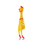 365mx® Party Supplies Funny Prop Trick Toy Yellow Rubber Screaming Chicken