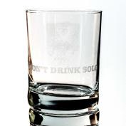 Designer Rocks Glass - Don't Drink Solo