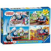 Ravensburger Thomas & Friends 4 x 42 piece Bumper Puzzle Pack