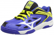 Mizuno Wave Stealth 3 Jr Handball Shoes Boys Blue Size