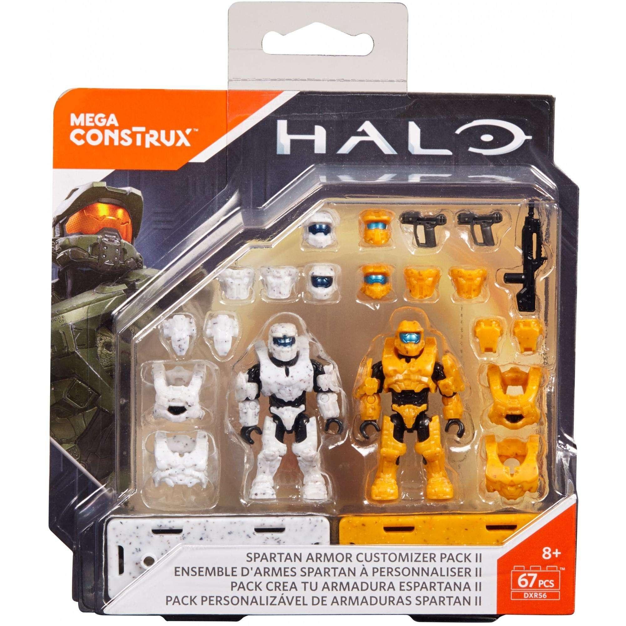 Mega Construx Halo Spartan Armour Customizer Pack Building Set