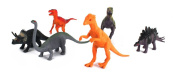 Jurassic Animal World 6 Piece Toy Dinosaur Animal Figures Playset, Includes a Variety of Prehistoric Animals