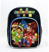 Mini Backpack - Nintendo - Super Mario Group Black 25cm New SD28261
