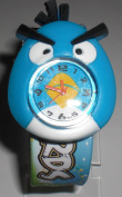 Angry Bird Toy Figure Slap Watch - Blue Face