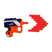 Smart Toys Dart Refill Back with Soft Tip and Nerf Zombie - 100 Red