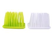 Fengirl 2PCS Bathroom storage rack, grass, toothbrush holder