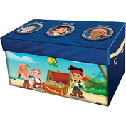 Folds Flat For Easy storage and Disney Jake & the Neverland Pirates Oversized Soft Collapsible Storage Toy Trunk
