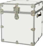 Rhino Trunk and Case Armour Trunk, Cube, White