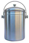 Urbane Wares Stainless Steel Compost Bin with 2 Filter.Bonus