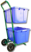 Recycle Cart for Recycle Bins Robust Recycle Cart for Simple Recycle Bin Moving | Recycle Caddy by Recycle Carts