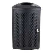 Safco Products Nook Indoor Waste Receptacle, 75.7l, Black