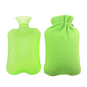 KOODER Hot Water bottle,Slow down the symptom of dysmenorrhea,warm your stomach,Winter heating products! 2L