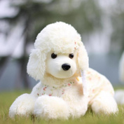 WuKong White 45cm Stuffed Animals & Plush Toys Plush Poodle Dog Doll Plush Toys